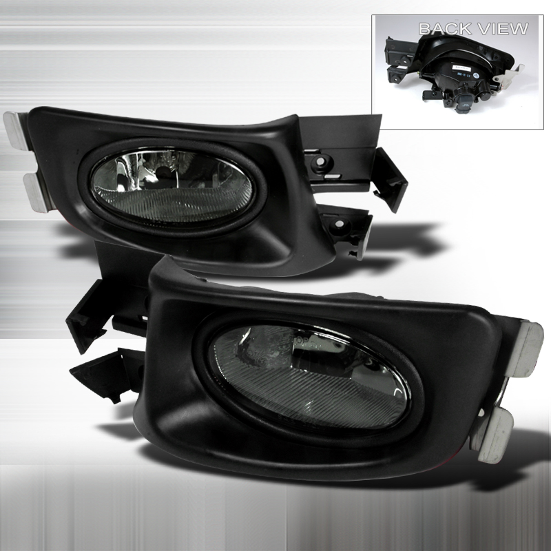 oem style smoked fog light for honda accord years 2003 2004. Black Bedroom Furniture Sets. Home Design Ideas