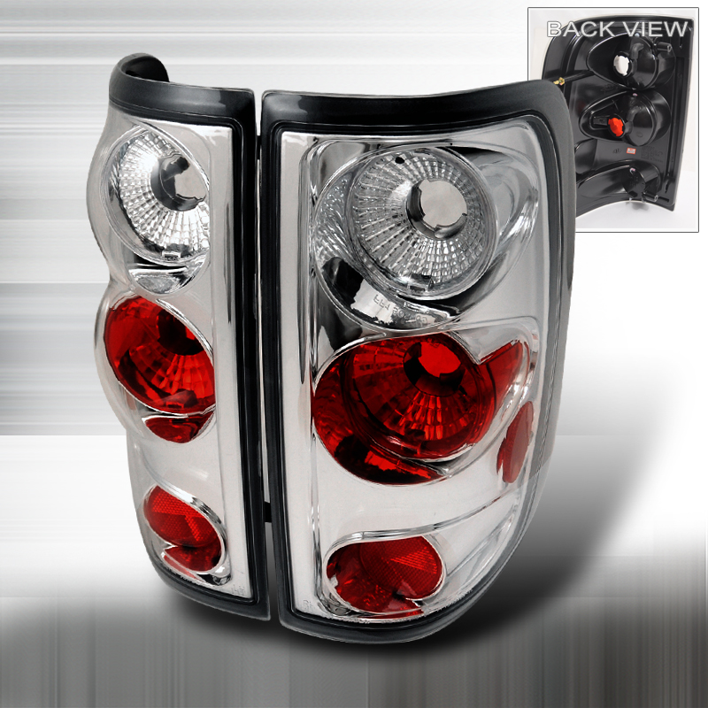 altezza tail light chrome for ford f150 years 2004 2008. Black Bedroom Furniture Sets. Home Design Ideas