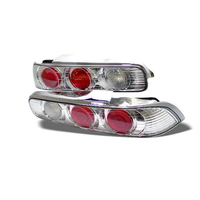 Acura Integra 94 01 2dr Euro Style Tail Lights Chrome