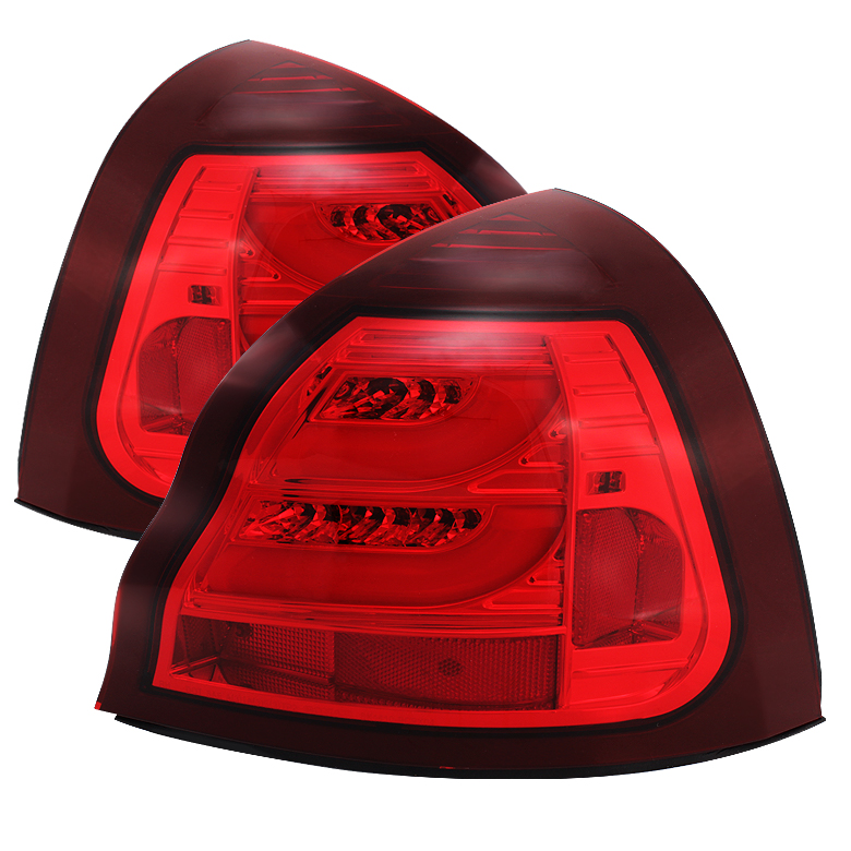 pontiac grand prix 04 08 light bar led tail light red. Black Bedroom Furniture Sets. Home Design Ideas