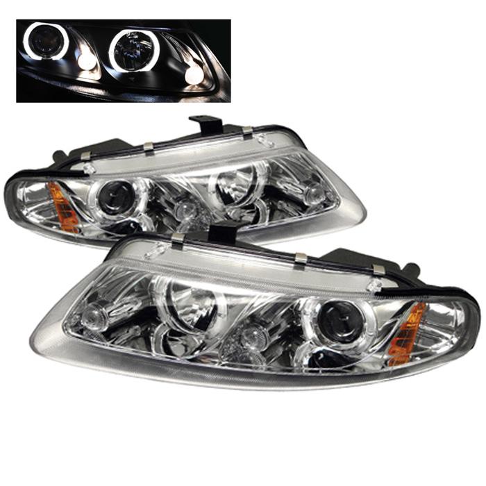 Dodge Avenger 2dr 97 00 Chrysler Sebring Projector Headlights