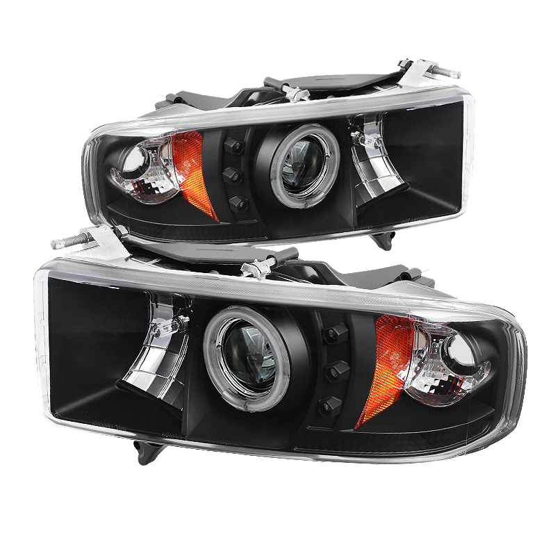Dodge Ram 1500 99 01 2500 3500 02 Projector Headlights