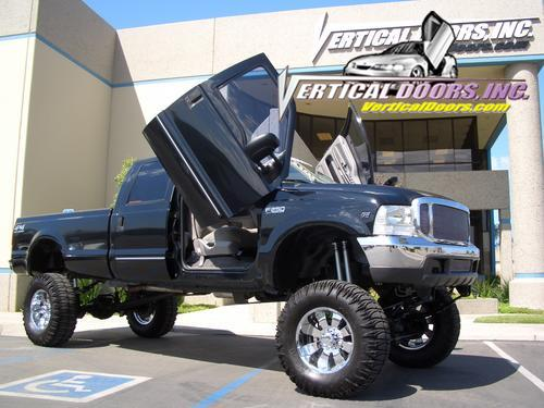 Ford F350/F250/Superduty 1999 2010 Vertical Door Kit