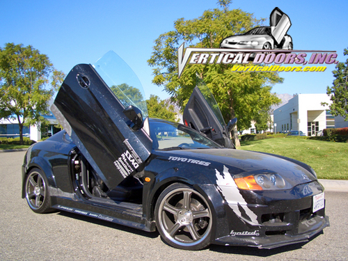 hyundai tiburon 2002 2008 vertical door kit annihilatorcustoms com hyundai tiburon 2002 2008 vertical door kit