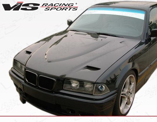 1992 1998 Bmw 3 Series E36 2dr Euro R Carbon Fiber Hood