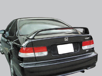 1999 2000 honda civic si 2dr factory style spoiler fits 96 98. Black Bedroom Furniture Sets. Home Design Ideas