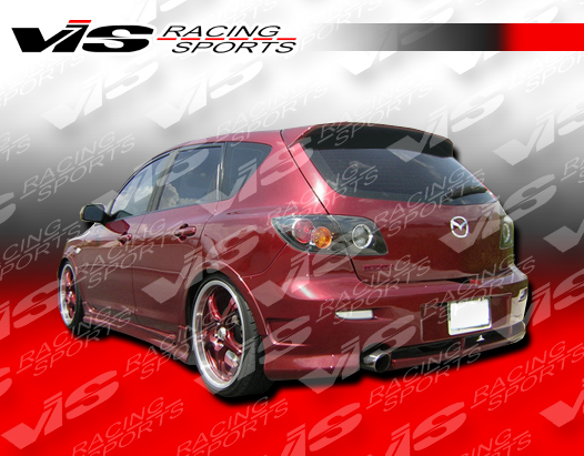2004 2009 Mazda 3 Hatchback Factory Style Spoiler