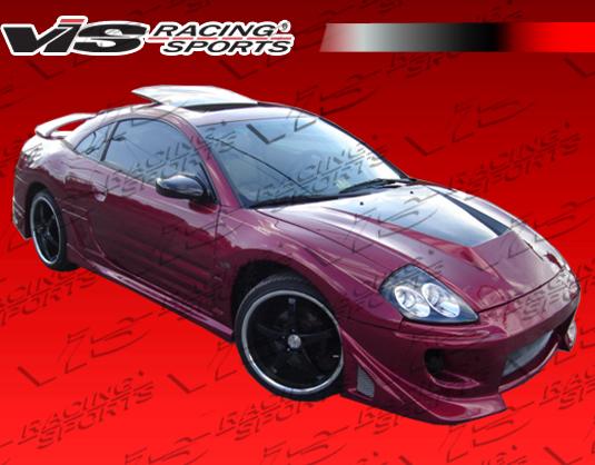 2000 2005 Mitsubishi Eclipse 2dr Battle Z Front Bumper