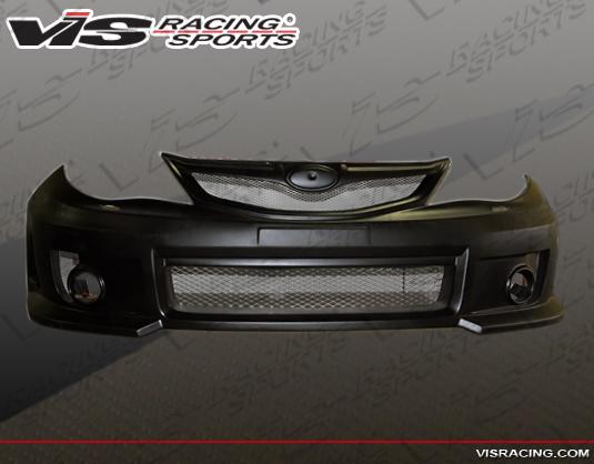 2012 wrx sti front bumper