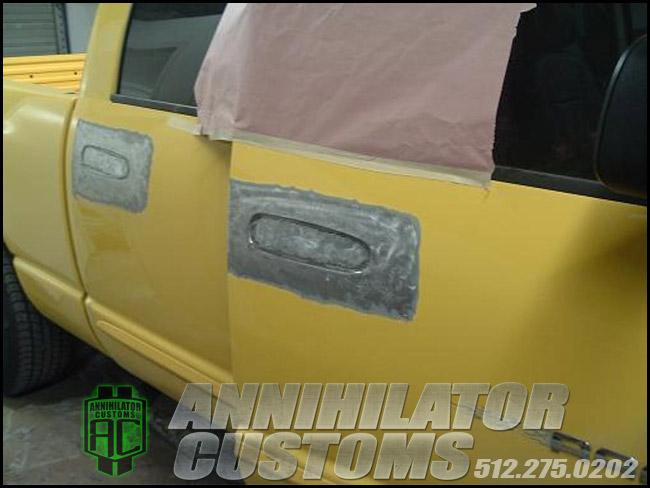 Shaved Door Handles Annihilator Customs